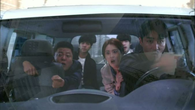 surrounded_driving